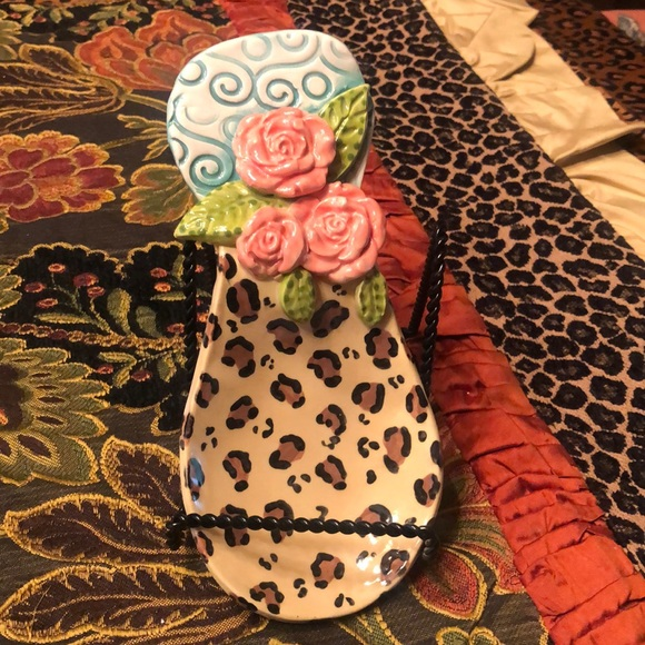 ClaybiZ by Jeannie Other - Gorgeous Leopard/Rose Soonrest!